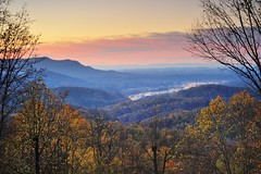 Smoky Mountian Sunset - Pigeon Forge, Tennessee by Michigan Nut