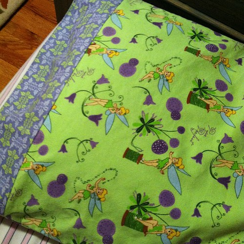 Tinkerbell pillowcase