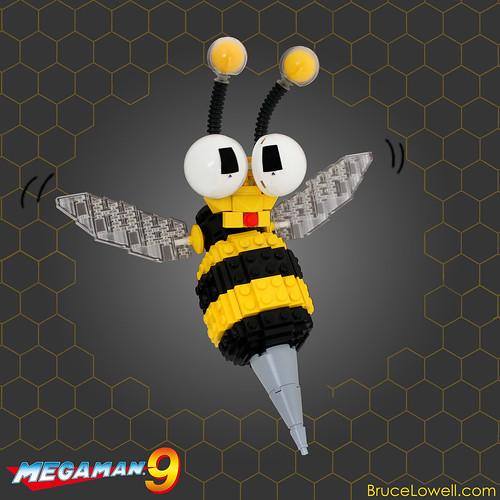 LEGO Mega Man IX Hornet Chaser