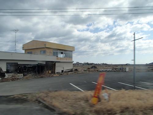 南相馬・小高でボランティア(援人 2014年 0320便)