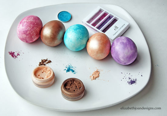 Eyeshadow Easter Eggs 1