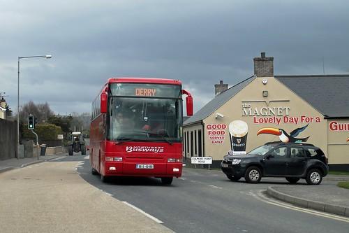 londonderry derry culmore greencastle countylondonderry plaxton volvob10m62 northwestbusways