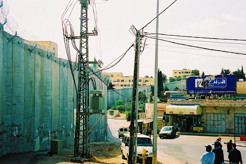 Separation wall near Bethlehem, West Bank