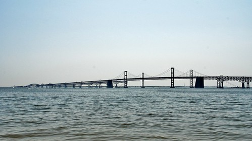 USA, Maryland - Annapolis, Chesapeake Bay Bridge