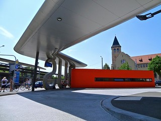 Jena bus station, Germany