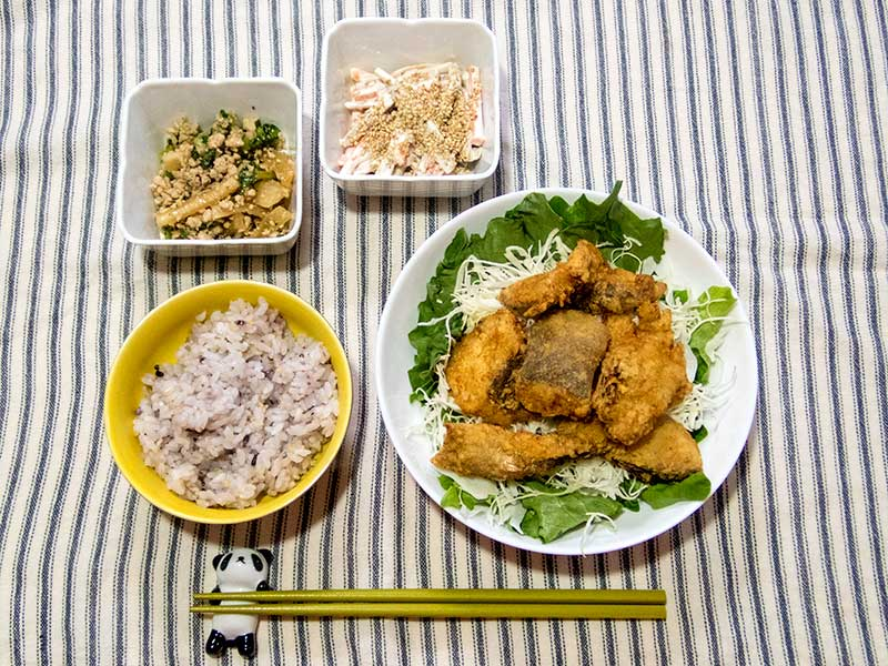 2016年5月2日の晩ご飯