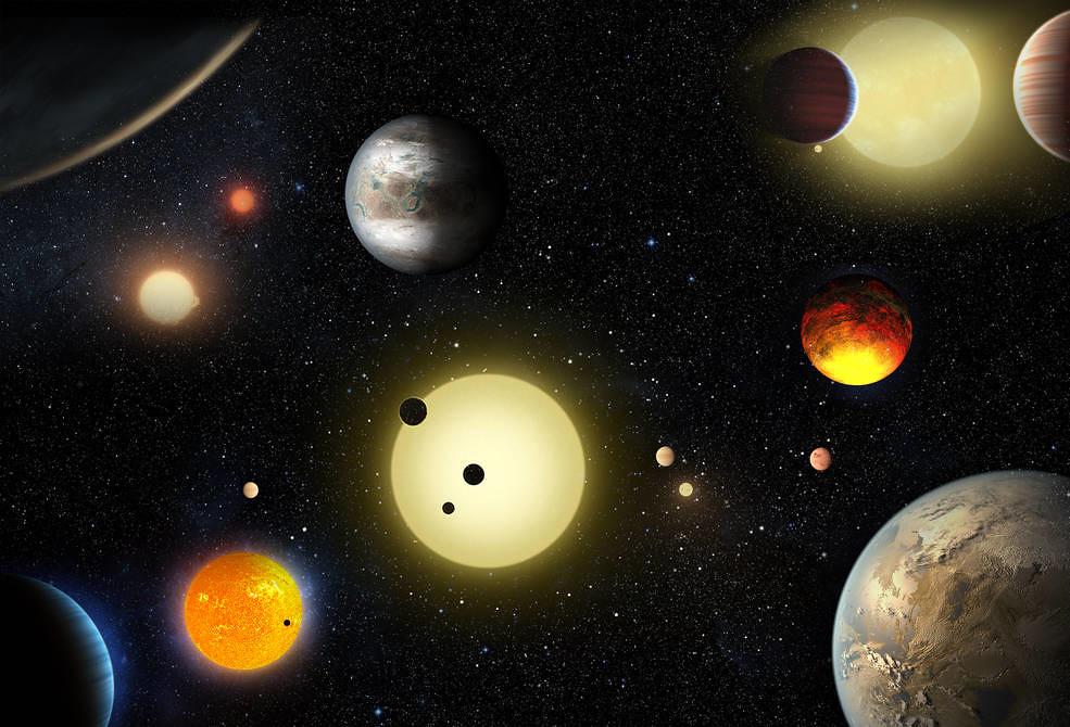 Planetas descubiertos por Kepler