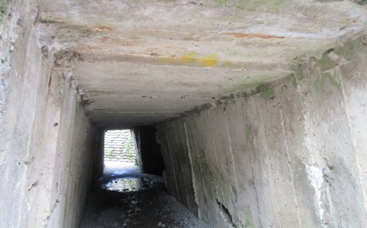 A tunnel at the Dodengang