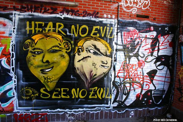 Hear no evil, see no evil