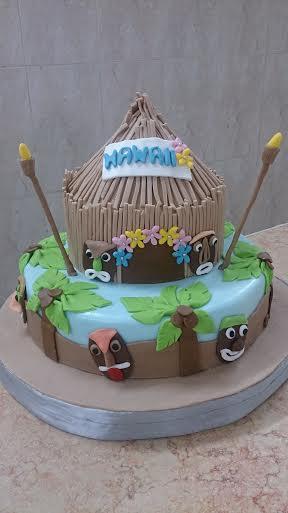 Hawaii Themed Cake by Erick San Jose