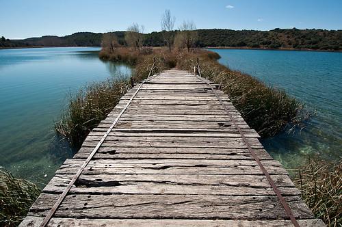 Parque Natural de las Lagunas de Ruidera: La Laguna Colgada