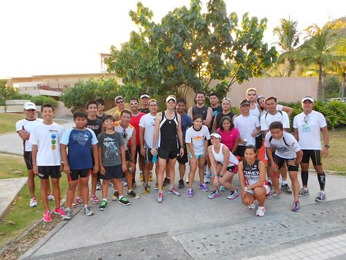 Next Step Tri Camp: after running