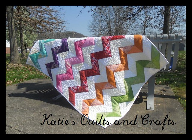 "Project Quilting Challenge ""ZigZag"""