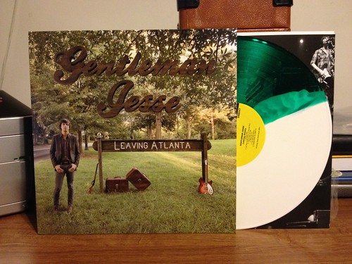 Gentleman Jesse - Leaving Atlanta LP - Green/White Split Color Vinyl (/100) by Tim PopKid