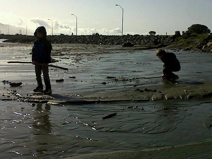 Crescent City beach