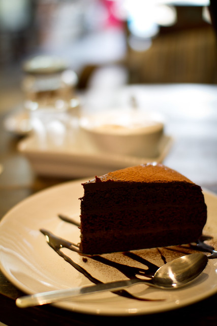 nice chocolate cake Flickr - Photo Sharing!