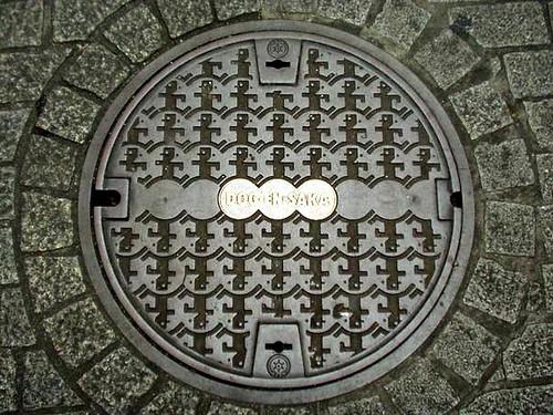 Tokyo Tokyo Metropolis manhole cover 2(東京都区部のマンホール2)