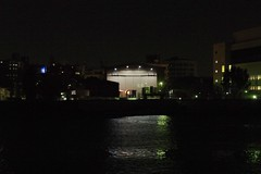 平成中村座 対岸から