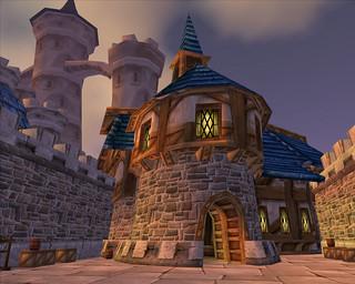 Old Stormwind, Warrior Barracks & Castle Keep