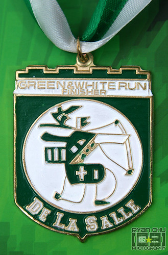 DLSU Green and White