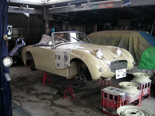 1960 Austin Healey Sprite Mk1