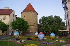 Easter Eggs, Kaptol, Zagreb, Croatia