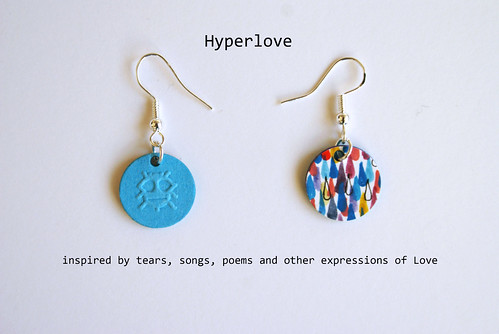 Paper Earrings - <span class=