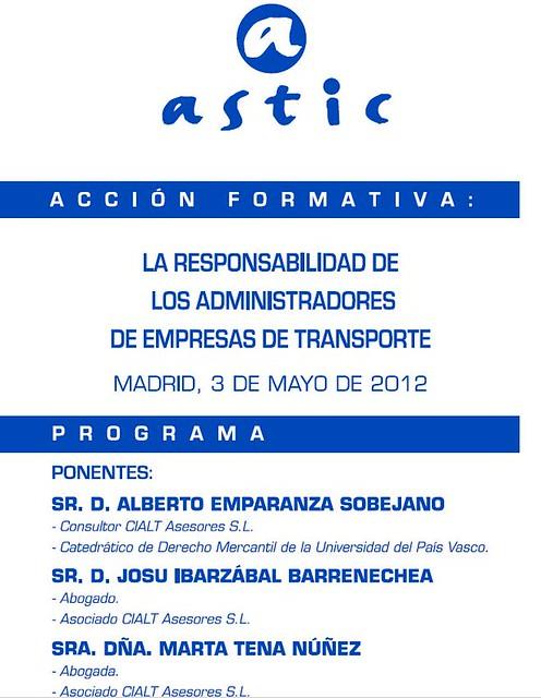 Astic 3 de mayo