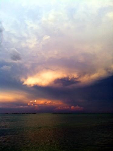 無料写真素材, 自然風景, 雲, 暗雲, 嵐, 風景  イタリア
