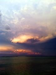 [フリー画像素材] 自然風景, 雲, 暗雲, 嵐, 風景 - イタリア ID:201205010600