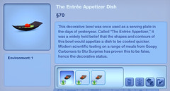 The Entree Appetizer Dish