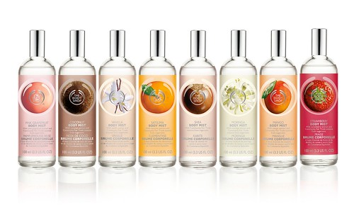 TBS Body Mist Range