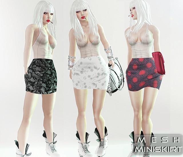 Reila Skins - Mesh Miniskit Poster