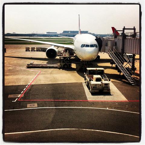 羽田から福岡・博多へ