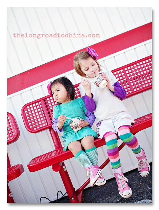 Sitting on the Bench at Rita's BLOG