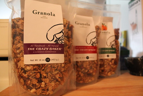 I got home and found that The Crazy Baker had made some granola for me!!! by leith70