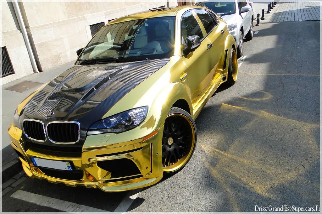 Bmw X6 Hamann Tycoon Evo M Gold A Photo On Flickriver
