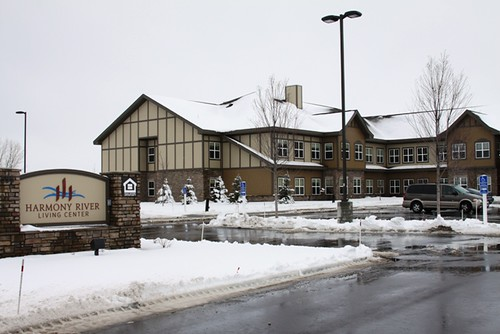 Harmony River Senior Living Center, shown in a photo in late February, was financed through USDA's Community Facilities Program.