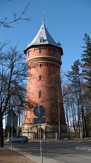 Ciekawa wieża ciśnień w Oleśnicy