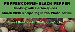 PEPPERCORNS~BLACK PEPPER RECIPE TAG