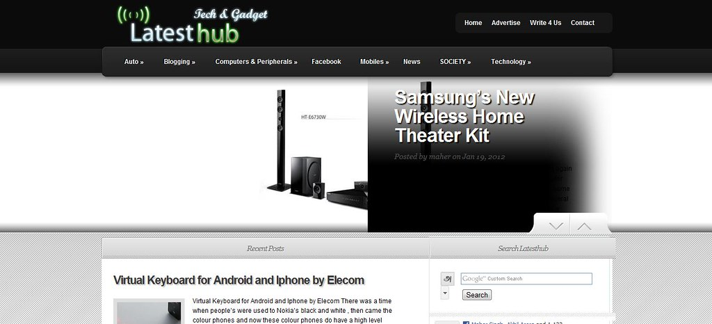 Latesthub org - Tech Blog - Latest Gadgets - Technology up