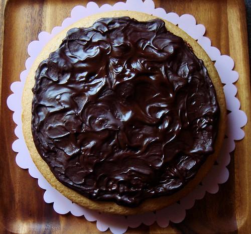 Cinnamon Mocha Cake with Ganache