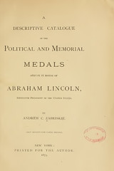 Zabriskie on Lincoln medals