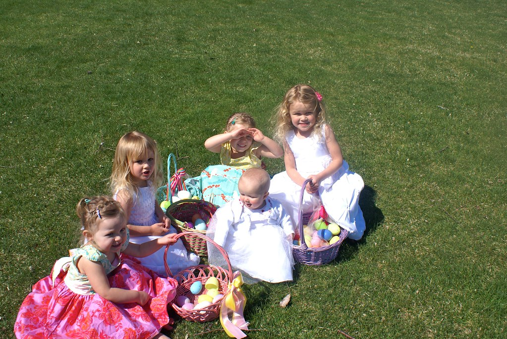 Cousins, Easter Morning!