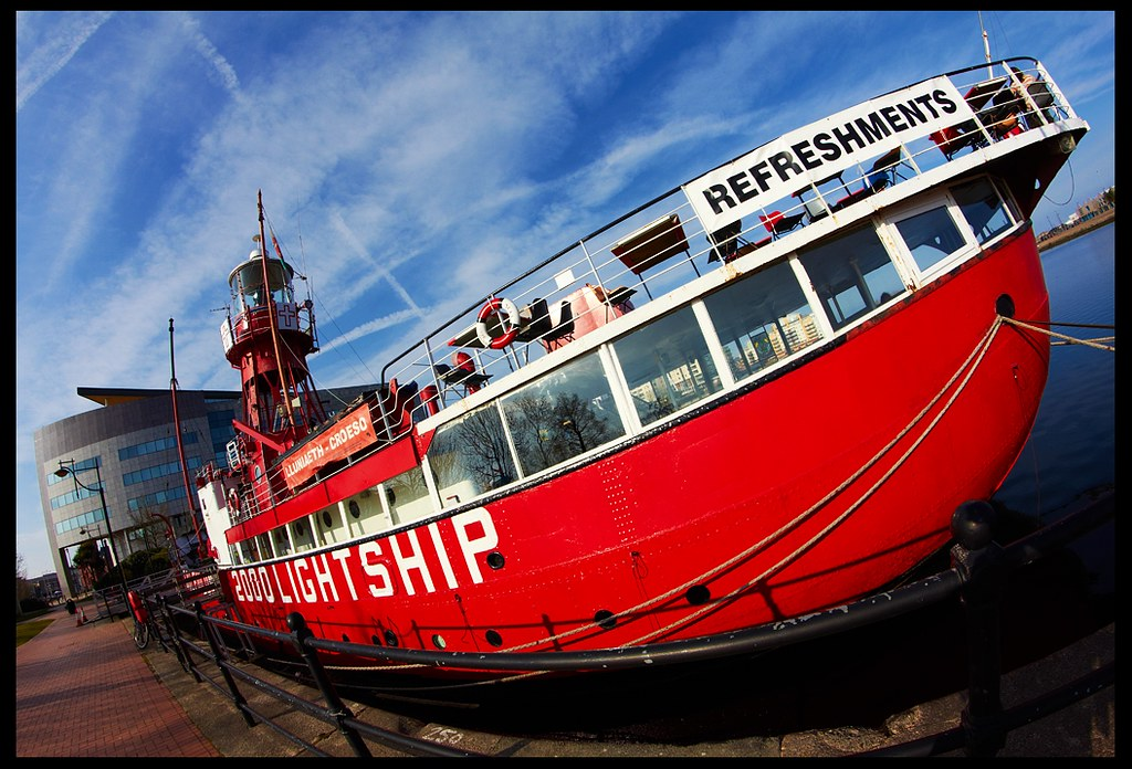 Lightship 2000 LV 14 at Cardiff Bay