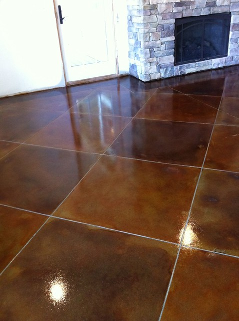 stained concrete basement in pinhook va flickr photo sharing