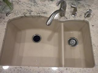 Silgranit Sink Color For Alaska White Granite