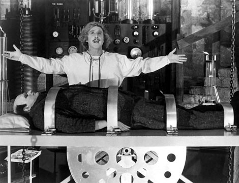YOUNG FRANKENSTEIN, Gene Wilder, Peter Boyle, 1974TM and Copyright © 20th Century Fox Film Corp. All rights reserved.