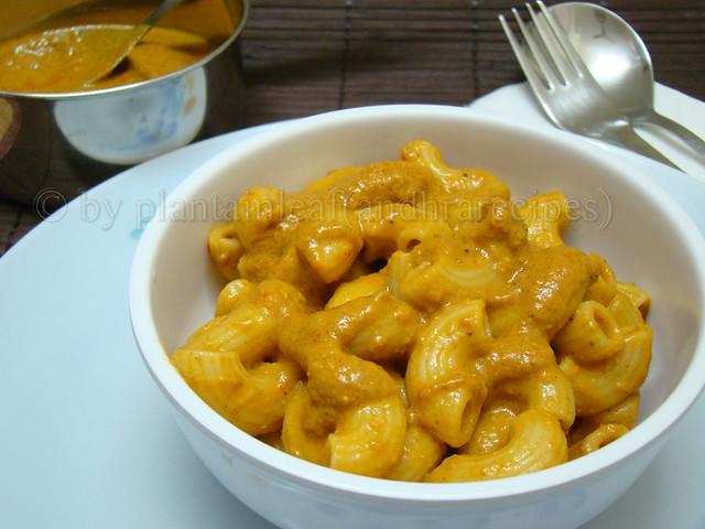 pasta butter masala