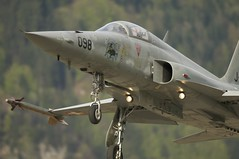 aviation, airplane, wing, vehicle, fighter aircraft, northrop f-5, ground attack aircraft, jet aircraft, air force,